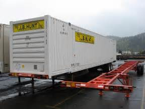 J.B. Hunt Intermodal Containers