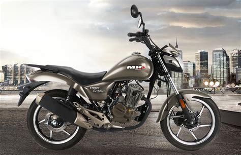 mh motorcycles street evolution    precio ficha