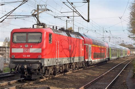 Db 112 159 Quits Elmshorn On 28 April 2016. Note The
