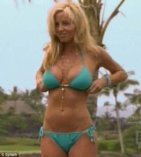 Camille Grammer Plastic Surgery Before And After Breast