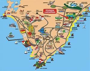 Mapa de Salvador, Mapa dos Bairros de Salvador Encontra Bahia