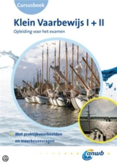 Vaarbewijs Boek Pdf by Klein Vaarbewijs 1 2 Deel Cursusboek Gratis Boeken