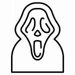 Face Ghost Scream Horror Halloween Scary Icon