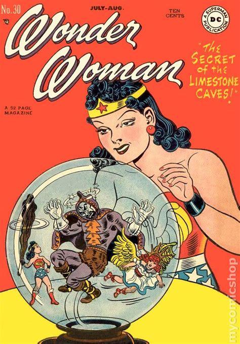 woman  st series dc comic books