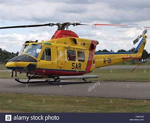 Dutch SAR search and rescue helicopter Agusta Bell 412 SP ...