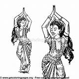 Coloring Suit Belly Traditional Dancer Dance Dancers Getcoloringpages Adult sketch template