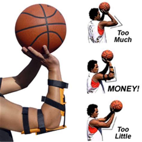 bandit basketball shooting aid muscle memory elbow