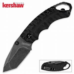 Kershaw Shuffle II BlackWash Folding Pocket Knife Black ...