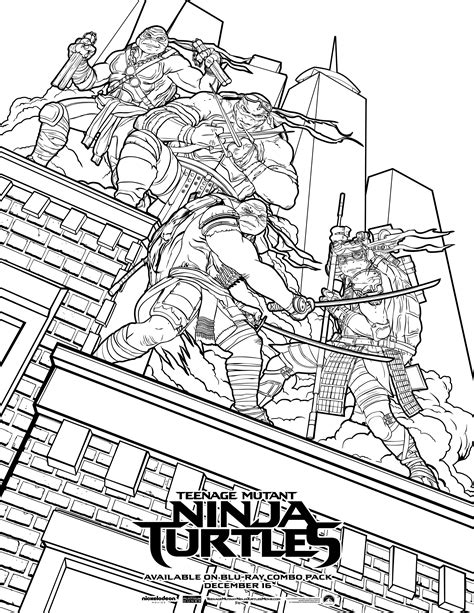 Tmnt Coloring Pictures Free Coloring Pages On Art