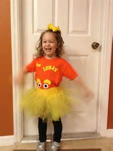 Lorax Dr. Seuss Character Costumes Homemade