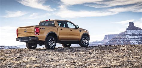 270 hp @ 5,500 rpm: 2019 Ford Ranger Pickup Truck Revealed With 2.3-liter ...