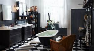 Badezimmer Retro Look : 52 fotos von badezimmer in schwarz und wei ~ Orissabook.com Haus und Dekorationen