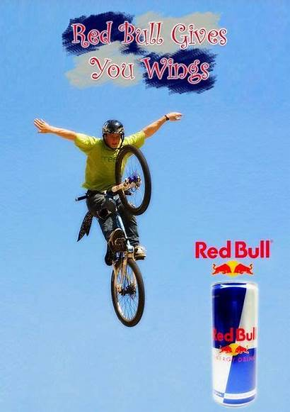Bull Advertising Ad Wings Gives Campaign Advertisement