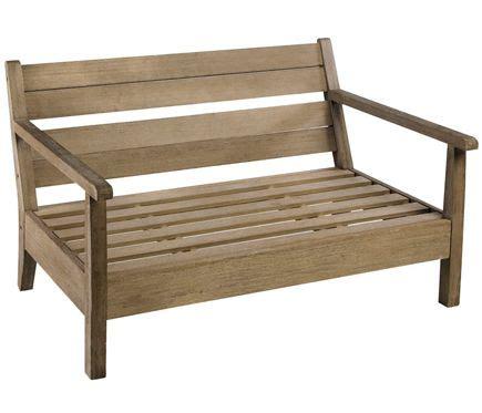 sofa terraza leroy sof 225 de madera martinica leroy merlin terrazas
