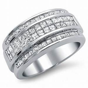 Mens White Gold Diamond Wedding Rings Wedding And Bridal