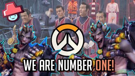 [funkey] 정크랫빌런과 날쌘 트레이서 (we Are Number One Overwatch