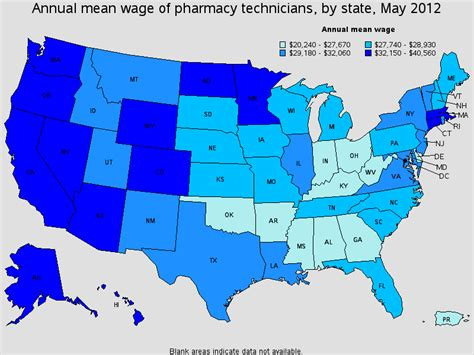 Certified Pharmacy Technician Salary by Pharmacy Technician Salary Healthcare Salary World