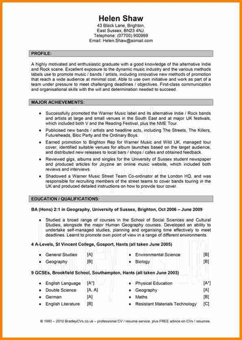 Proper Resume Format by 12 Exle Of A Cvs Penn Working Papers