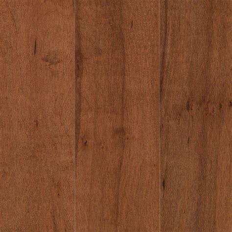 engineered maple hardwood mohawk pristine maple amaretto engineered hardwood flooring 5 in x 7 in take home sle un