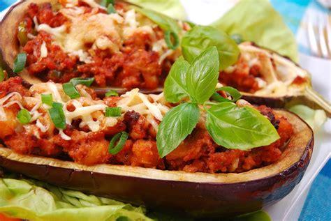 cuisiner un lapin au four recette aubergines farcies aux 2 viandes et au fromage