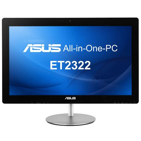ordinateur de bureau tactile asus et2322iuth b001q all in one 23 pouces tactile intel