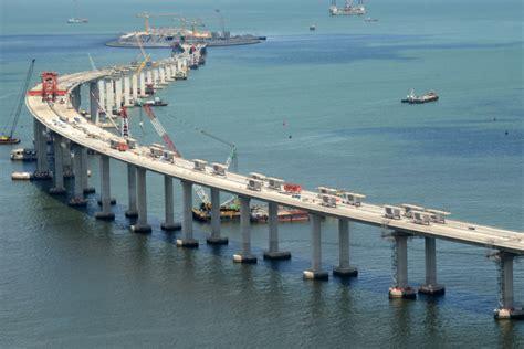 hong kong macau bridge the hk zhuhai macau bridge an economic excuse for a