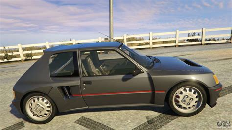 Peugeot Rally by Peugeot 205 Rally For Gta 5