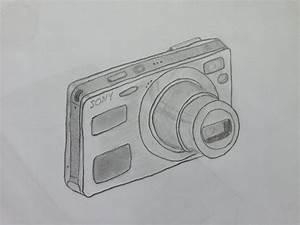 Camera Sketch / Drawing by Jonas-Jaeger on DeviantArt
