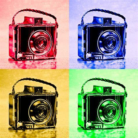 Pop Art Brownie Cameras Photograph By Jon Woodhams