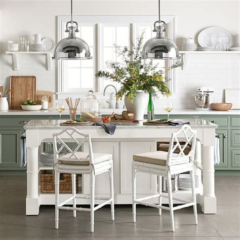 granite top kitchen islands barrelson kitchen island with black granite top williams sonoma