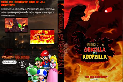 Godzilla Vs. Koopzilla Dvd By Pm58790 On Deviantart