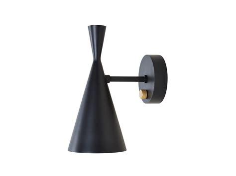 buy the tom dixon beat wall light black at nest co uk