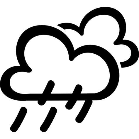 telecharger la meteo sur mon bureau gratuit symbole dessiné pluie météo télécharger icons