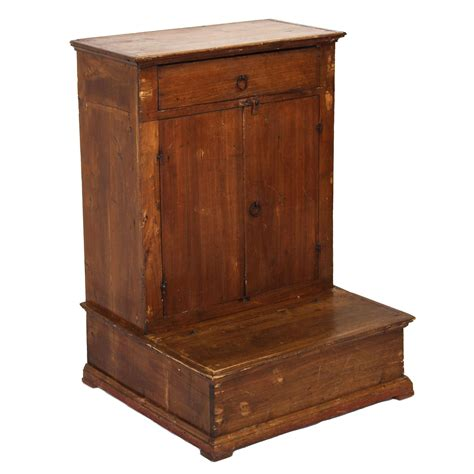 Prayer Cabinet by Antique Italian Prayer Kneeler Cabinet From Fatto A Mano