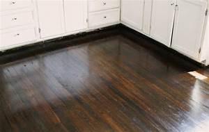 Dark walnut stain on pine floors minwax dark walnut stain for Pine floors stained dark