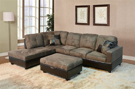 3 discount gray microfiber sectional sofa set with beverly furniture gray 3 microfiber faux