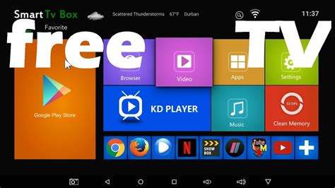 X96 Android Smart Tv Box & All The Free Tv Apps That Work