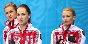 Russia Curling Team Photo - Business Insider