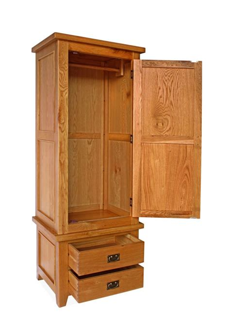 One Door Wardrobe With Drawers by Canterbury 1 Door 2 Drawer Wardrobe