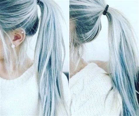 How Many Hair And Blue by Denim Hair Is A Hair Color Trend That S Actually Gorgeous