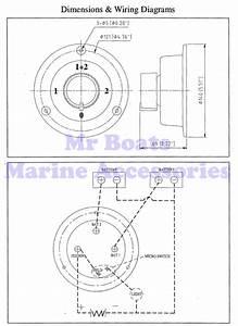 Dual Battery Selector Switch 12v Orange Boat Caravan 4wd