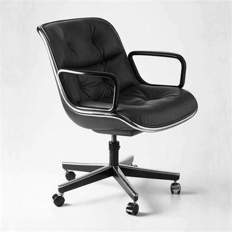 pollock fauteuil sur roulettes knoll international