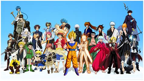 Anime Crossover Wallpaper - crossover hd wallpaper and background image