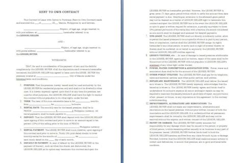 contract templates word  agreements