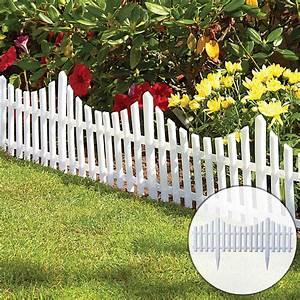 12pcs, Plastic, Garden, Border, Fencing, Fence, Pannels, Outdoor, Landscape, Decor, Edging, Yard, Easy