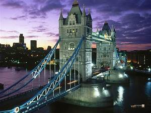 Tower Bridge – London Icon, Suspension Bridge, River ...