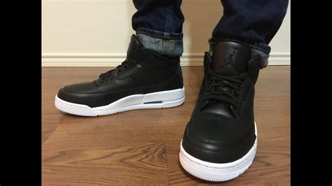 Jordan Retro 3 Cyber Monday Blackwhite Unboxing And On Feet Review Youtube