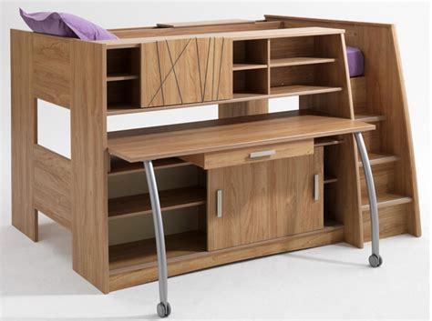 lit superposé avec bureau intégré conforama tendance le lit mezzanine lits mezzanine mezzanine et