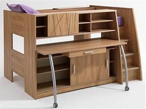 Ikea Lit En Hauteur : tendance le lit mezzanine elle d coration ~ Teatrodelosmanantiales.com Idées de Décoration