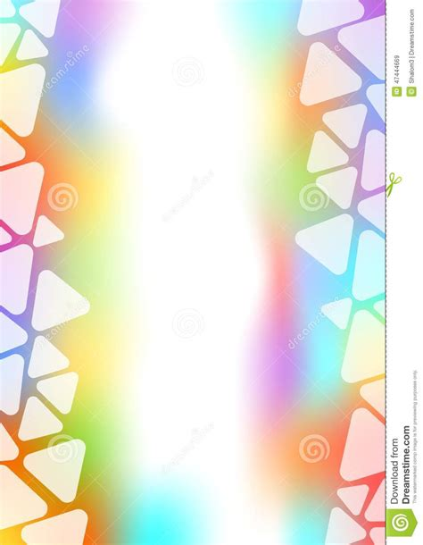 Fire And Smoke Curtains by Background With Transparent Triangle Border On Pastel Area